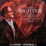 "LP - Richter: Beethoven ""Appassionata"" & ""Funeral March"" Piano Sonatas - French RCA 640.678"