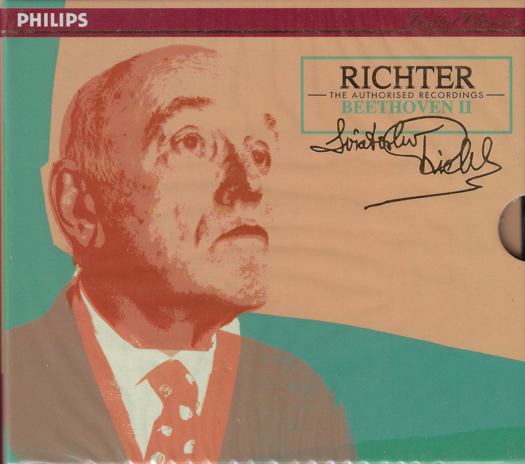 Richter Authorized Edition: Beethoven II - Philips 438 624-2 (2CD set, sealed)