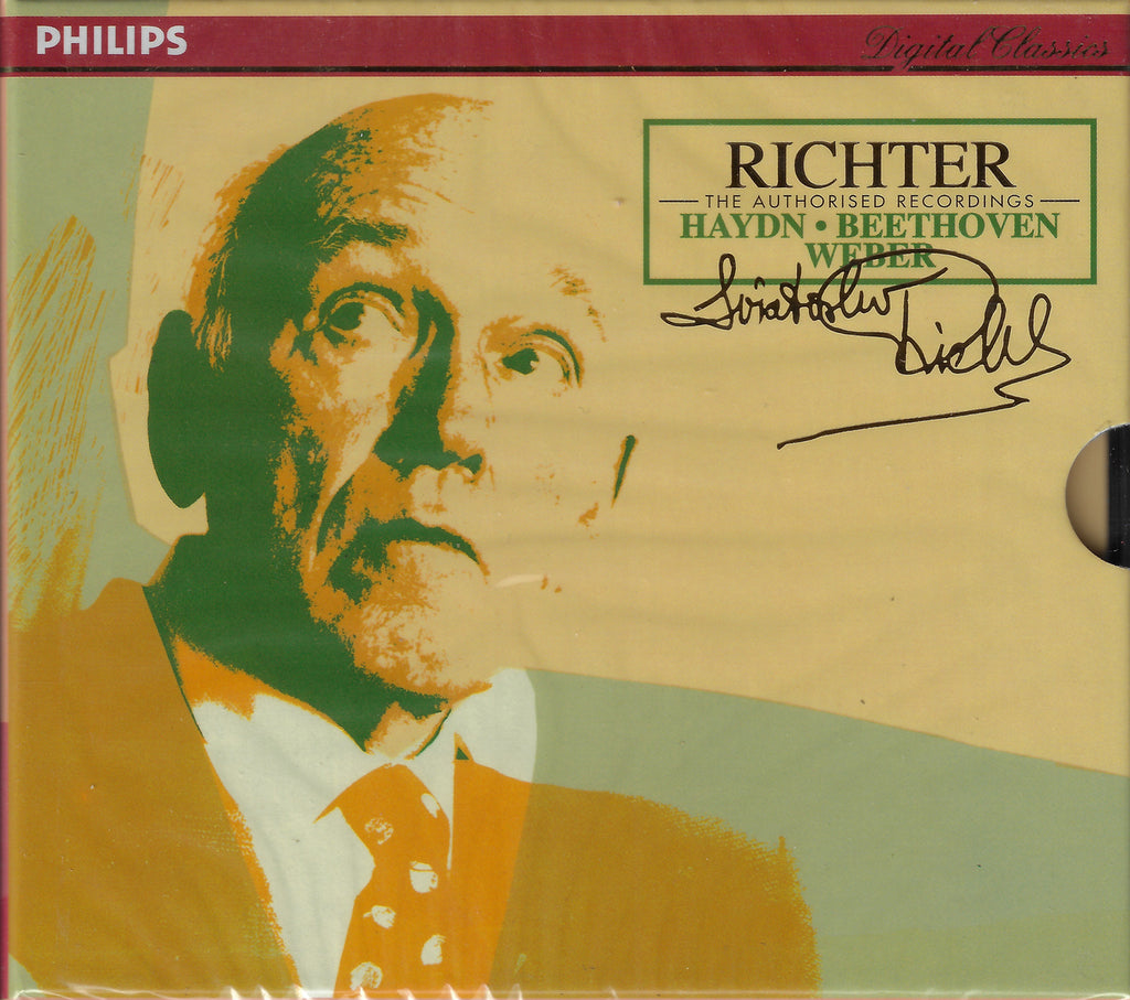 Richter Authorized Edition: Haydn, Weber, etc. - Philips 438 617-2 (2CD set, sealed)