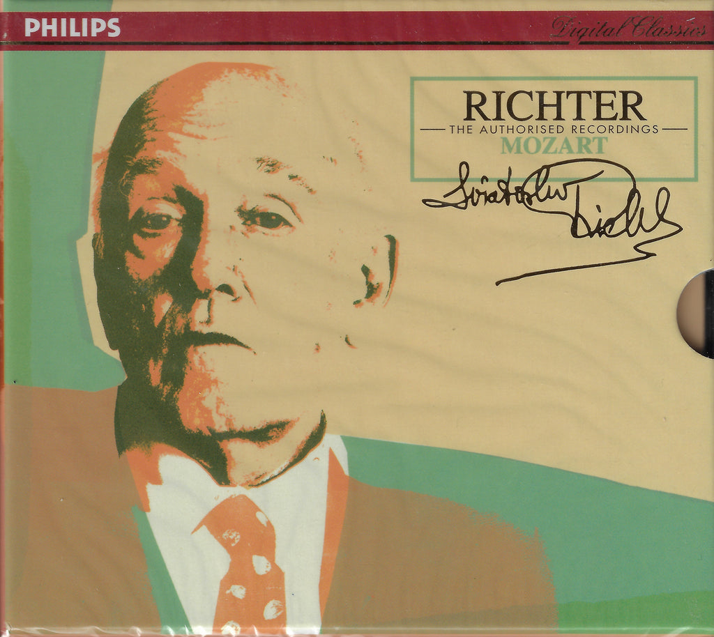 Richter Authorized Edition: Mozart - Philips 438 480-2 (2CD set, sealed)