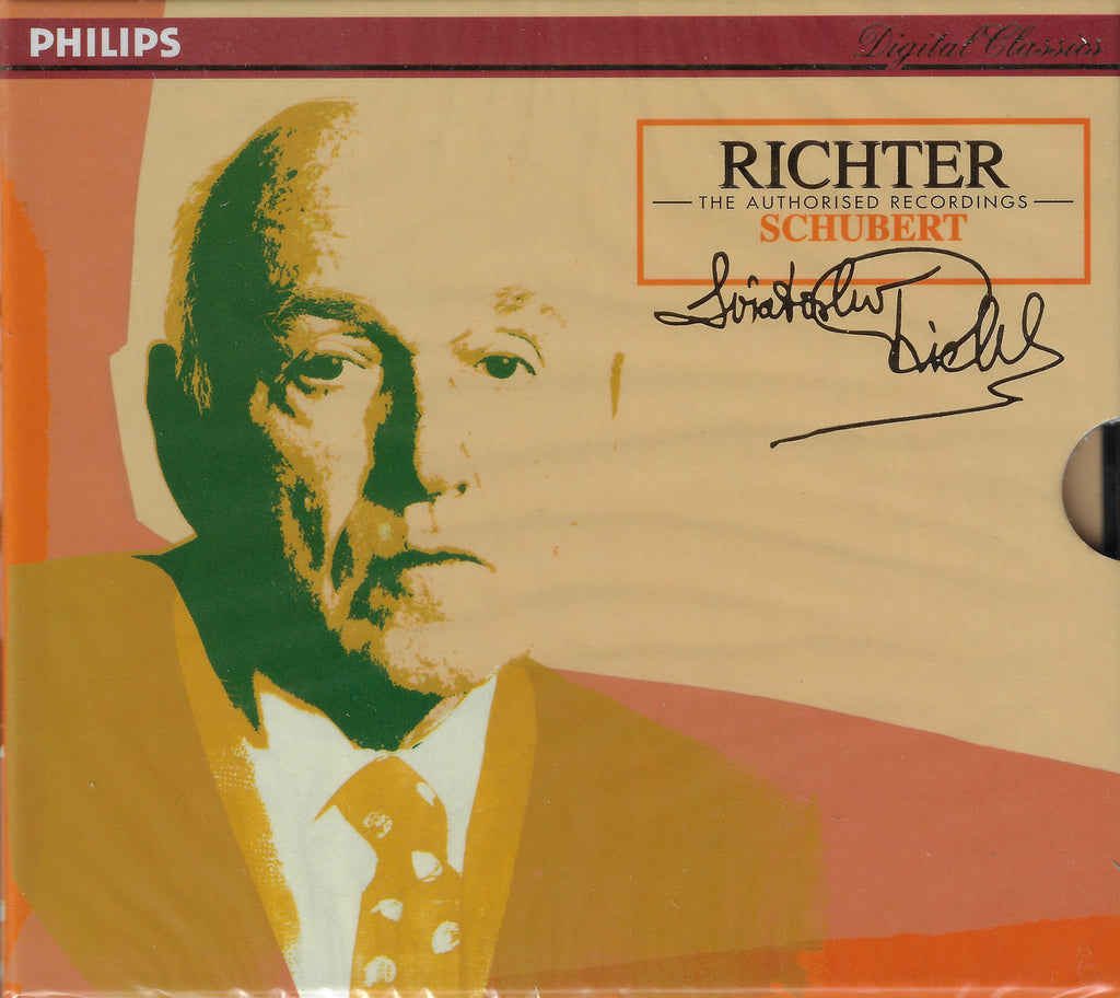 Richter Authorized Edition: Schubert - Philips 438 483-2 (2CD set, sealed)
