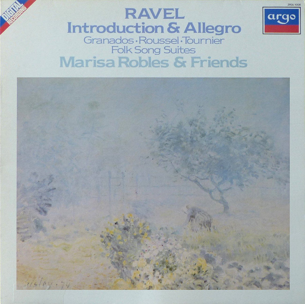 Robles & Friends: Ravel, Granados, Roussel & Tournier - Argo ZRDL 1008