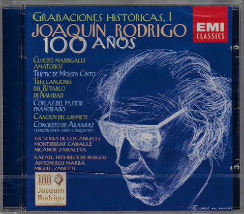 Rodrigo: Historical Recordings I (Los Ángeles) - EMI 5 57202 2 (sealed)