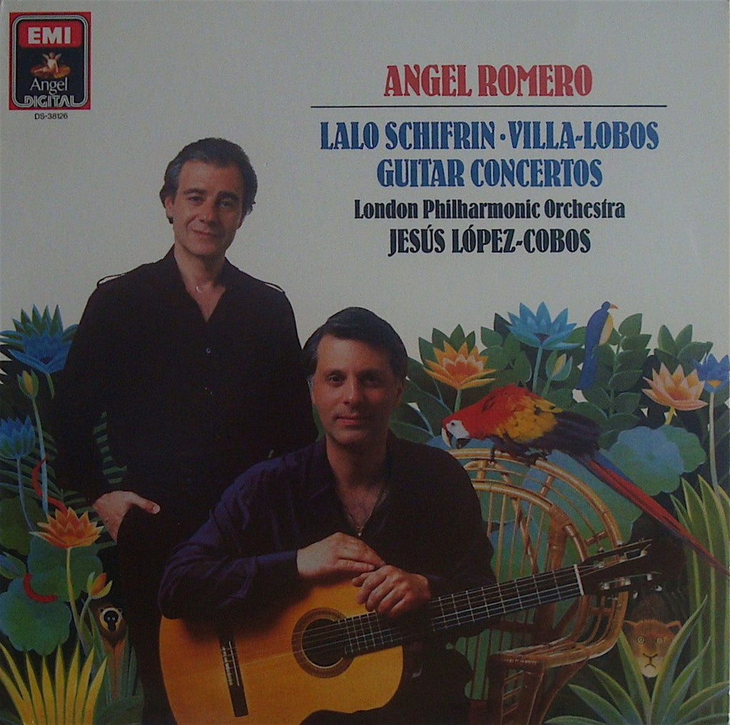 LP - Romero: Guitar Concertos By Torroba & Schifrin - Angel/EMI DS-38126 (DDD)