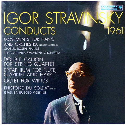 Rosen: Stravinsky Movements for Piano & Orchestra, etc. - Columbia ML 5672