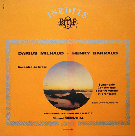 LP - Rosenthal: Milhaud Saudades Do Brazil + Barraud - Inedits RTF 995 034