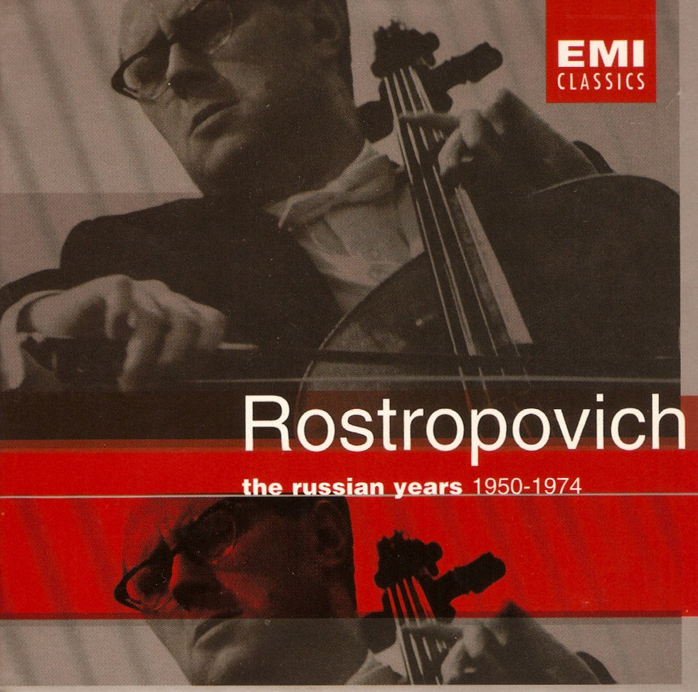 "CD - Rostropovich: ""The Russian Years · 1950-1974"" - EMI 7243 5 72016 2 9 (13CD Set)"