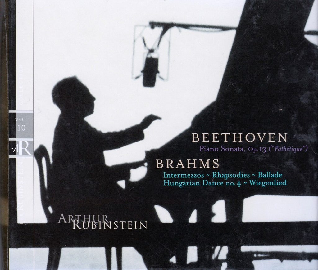 CD - Rubinstein: Vol. 10 (Beethoven Piano Sonata Op. 13 & Brahms Misc.) - RCA 09026 63010-2