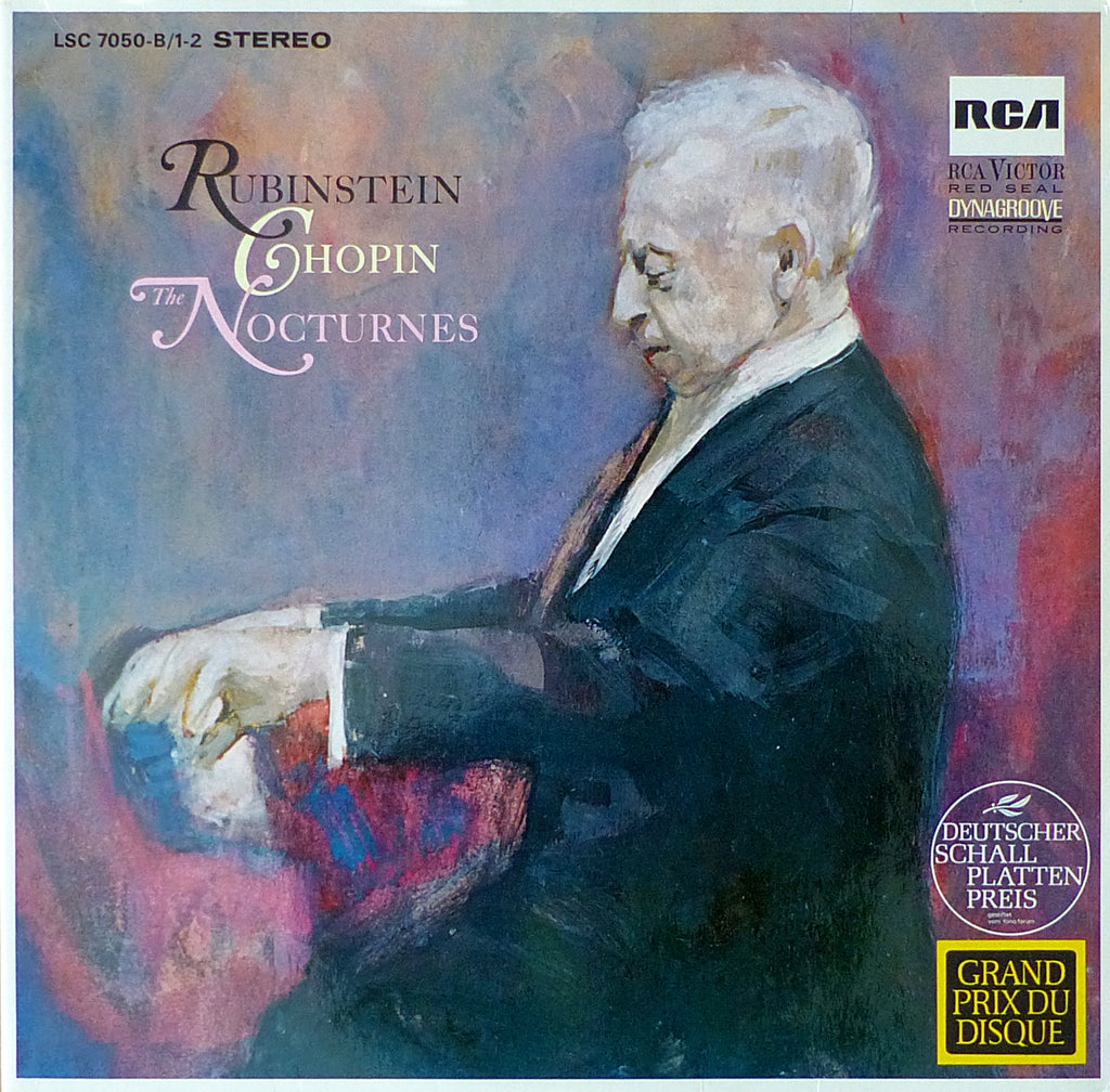 Rubinstein: Chopin 19 Nocturnes - German RCA LSC 7050-B/1-2 (2LP set)