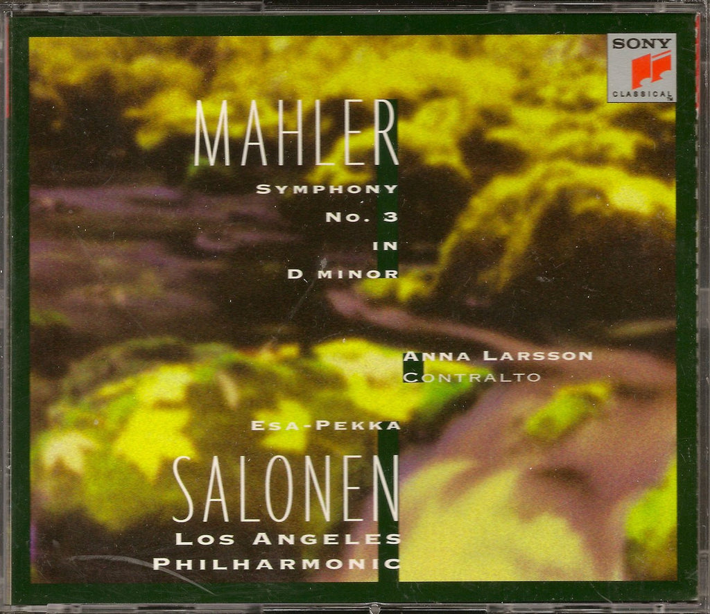 CD - Salonen/LAPO: Mahler Symphony No. 3 - Sony S2K 60250 (DDD) (2CD Set)