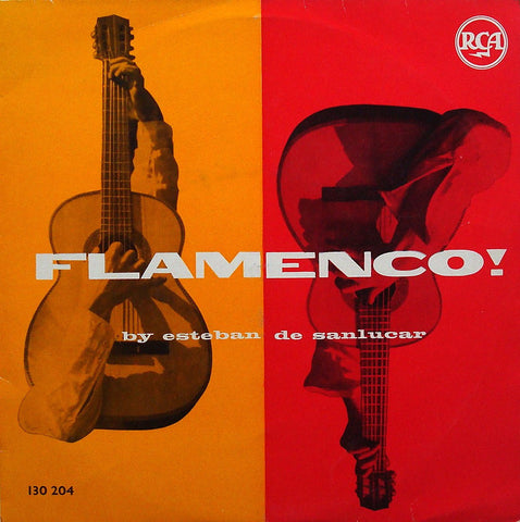 "LP - Esteban De Sanlucar: ""Flamenco!"" (8 Selections) - French RCA 130 204 (10"")"