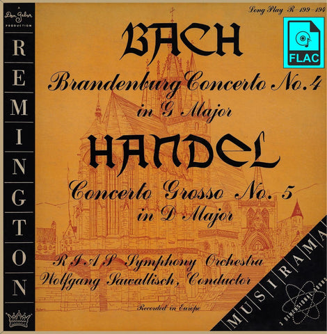 Sawallisch: Brandenburg Concerto No. 4 - Remington R-199-194