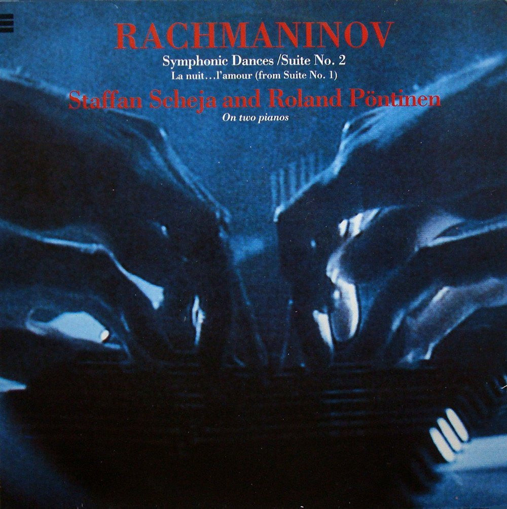 LP - Scheja & Pontinen: Rachmaminov Works For 2 Pianos - LCM L-103 (DDD)
