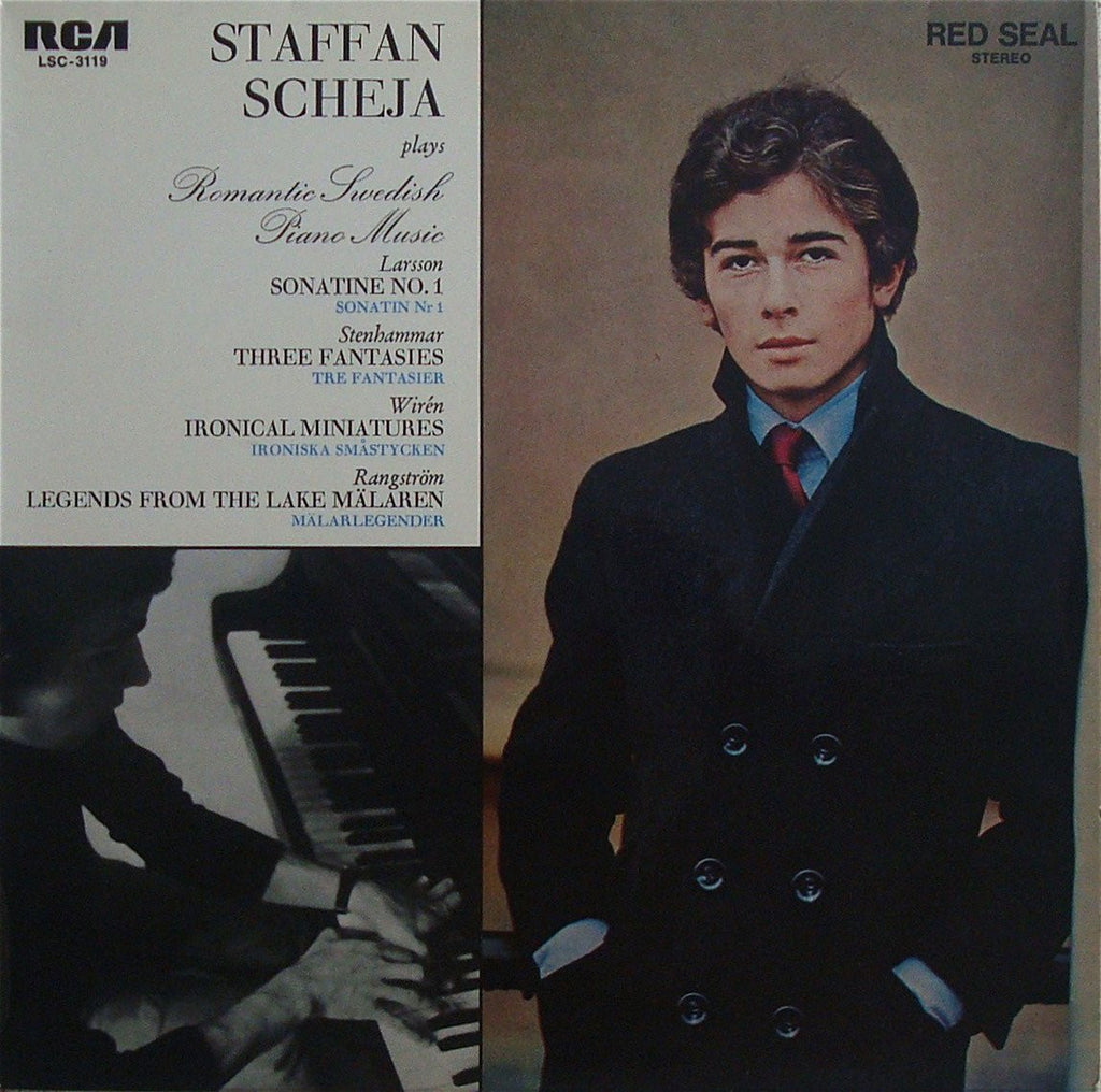 LP - Stefan Scheja: Romantic Swedish Piano Music - RCA LSC-3119