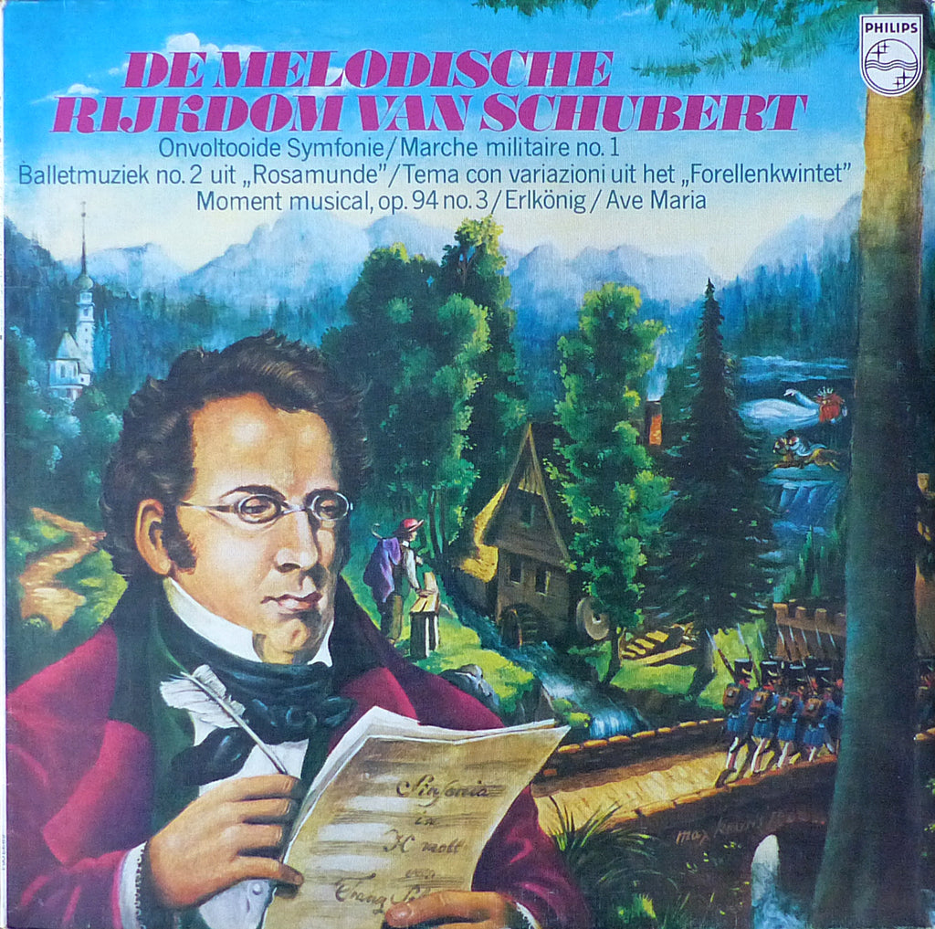 Schubert: The World of (sampler LP) - Philips 6833 064