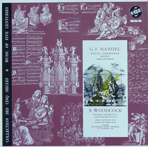 Schulze: Handel Royal Fireworks Music + Woodcock - Vox DL 750