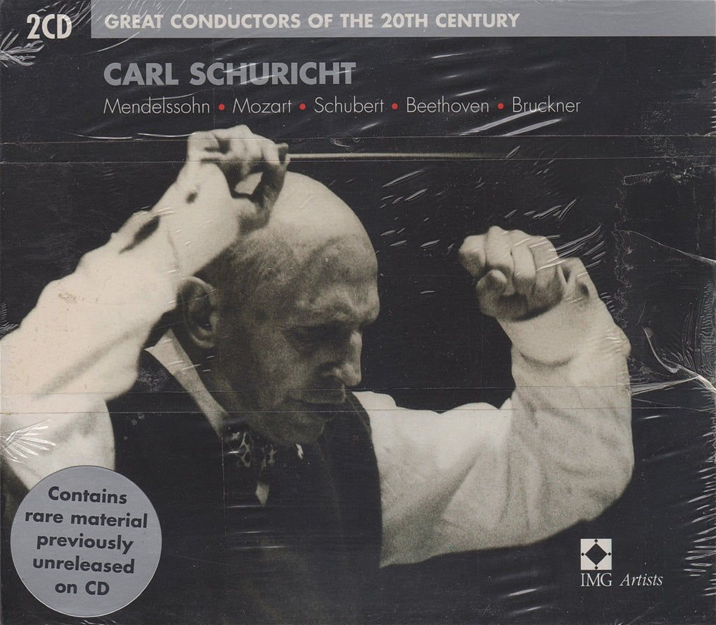 CD - Schuricht: Great Conductors Of The 20th Century - EMI 5 75130 2 (2CD Set, Sealed)