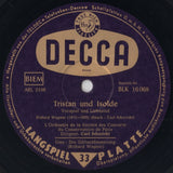 "LP - Schuricht: Tristan & Gotterdammerung - Decca BLK 10608; B Copy, Sold ""as Is"""