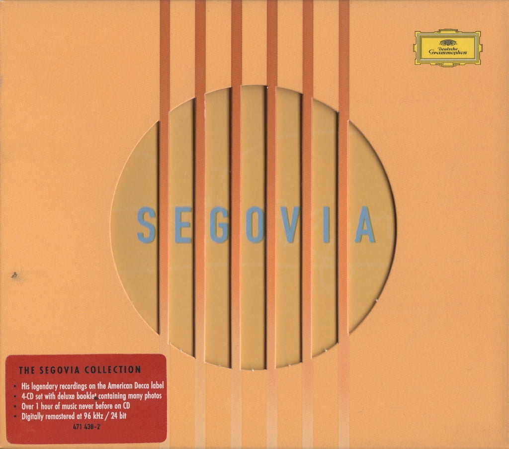 CD - Segovia: The Collection (American Decca Recordings) - DG 471 430-2 (4CD Set)