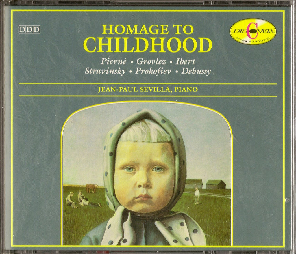 "CD - Sevilla: ""Homage To Childhood"" - Discovery Classics DICD 920169-70 (2CD Set)"