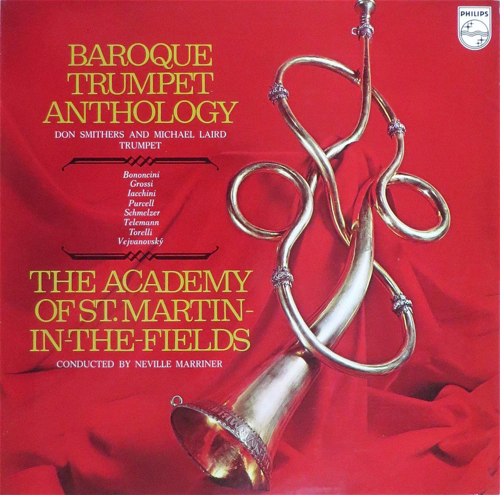 Smithers: Baroque Trumpet Anthology (Purcell, Torelli, et al.) - Philips 6500 110