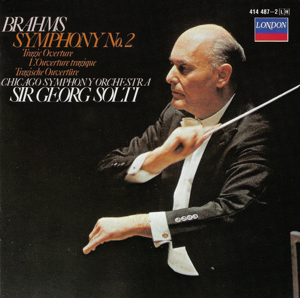 Solti: Brahms Symphony No. 2 + Tragic Ov. - London 414 487-2