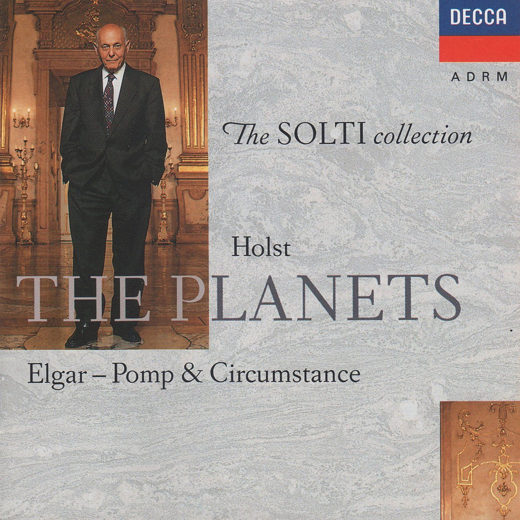 Solti/CSO: Holst The Planets + Elgar - Decca 430 447-2