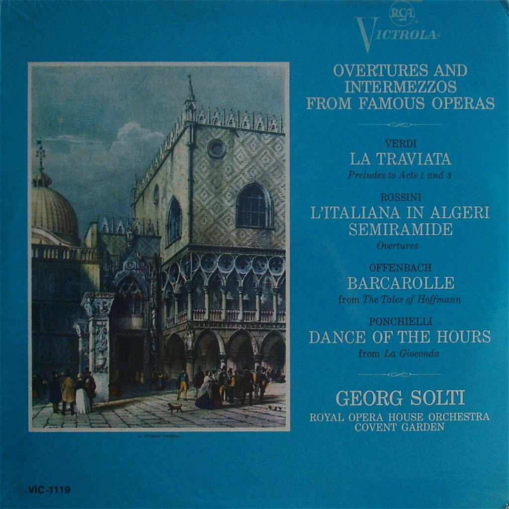 LP - Solti: Overtures & Intermezzos - RCA VIC-1119 (sealed)