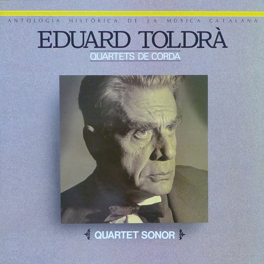 Sonor Quartet: Toldrà Vistes al Mar + String Quartet - PDI E-30.1679
