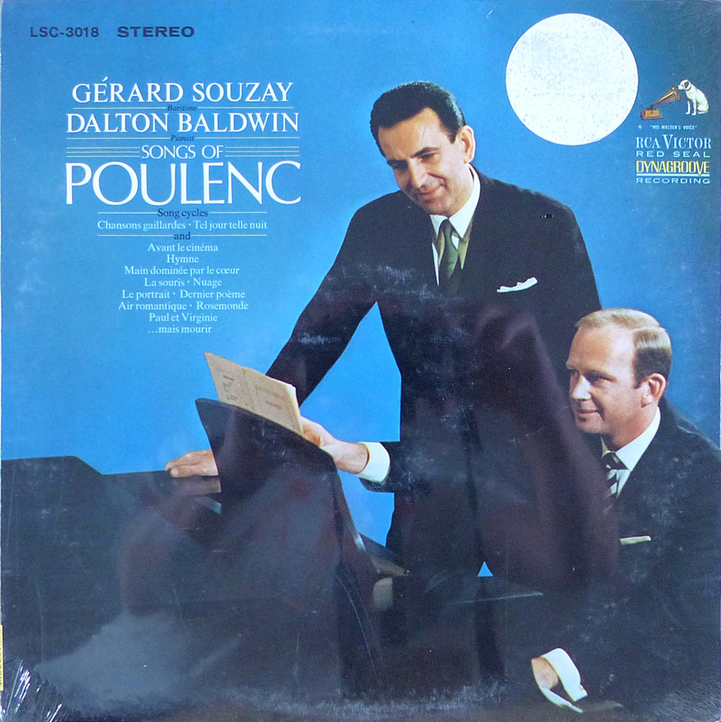 Souzay/Badlwin: Songs of Poulenc - RCA LSC-3018 (sealed)
