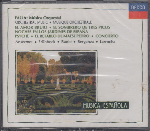 Ansermet, et al: Falla Orchestral Music - Decca 733 908-2 (2CD set) (sealed)