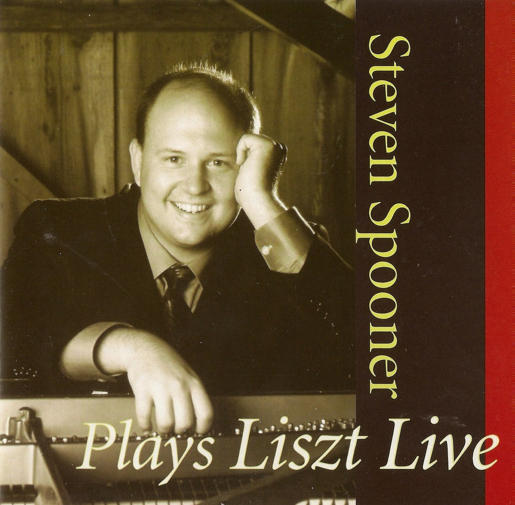 "CD - Steven Spooner: Liszt Sonata In B Minor, Etc. (""live"") - EMR Classics 1062"
