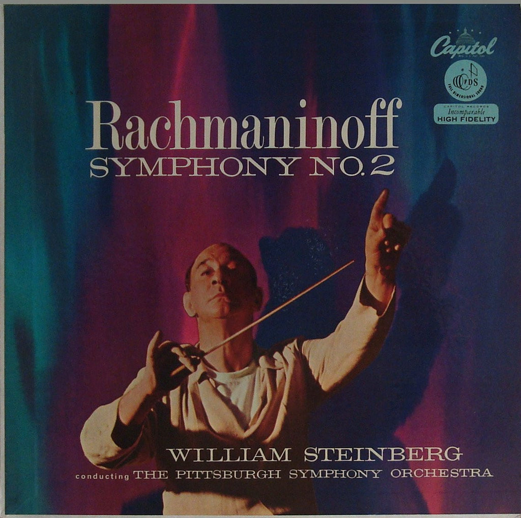 LP - Steinberg/Pittsburgh SO: Rachmaninov Symphony No. 2 - Capitol P 8293