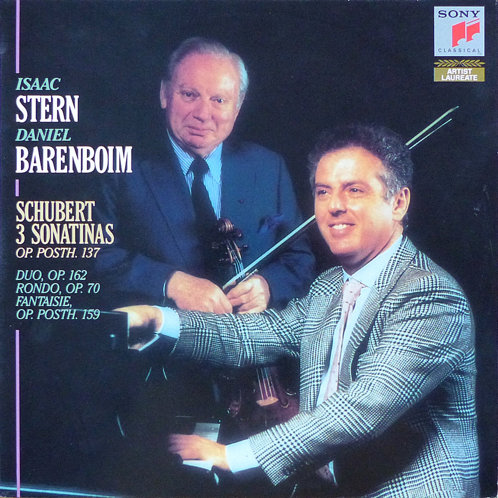 Stern: Schubert works for violin & piano - Sony S2 44504 (2LP set)