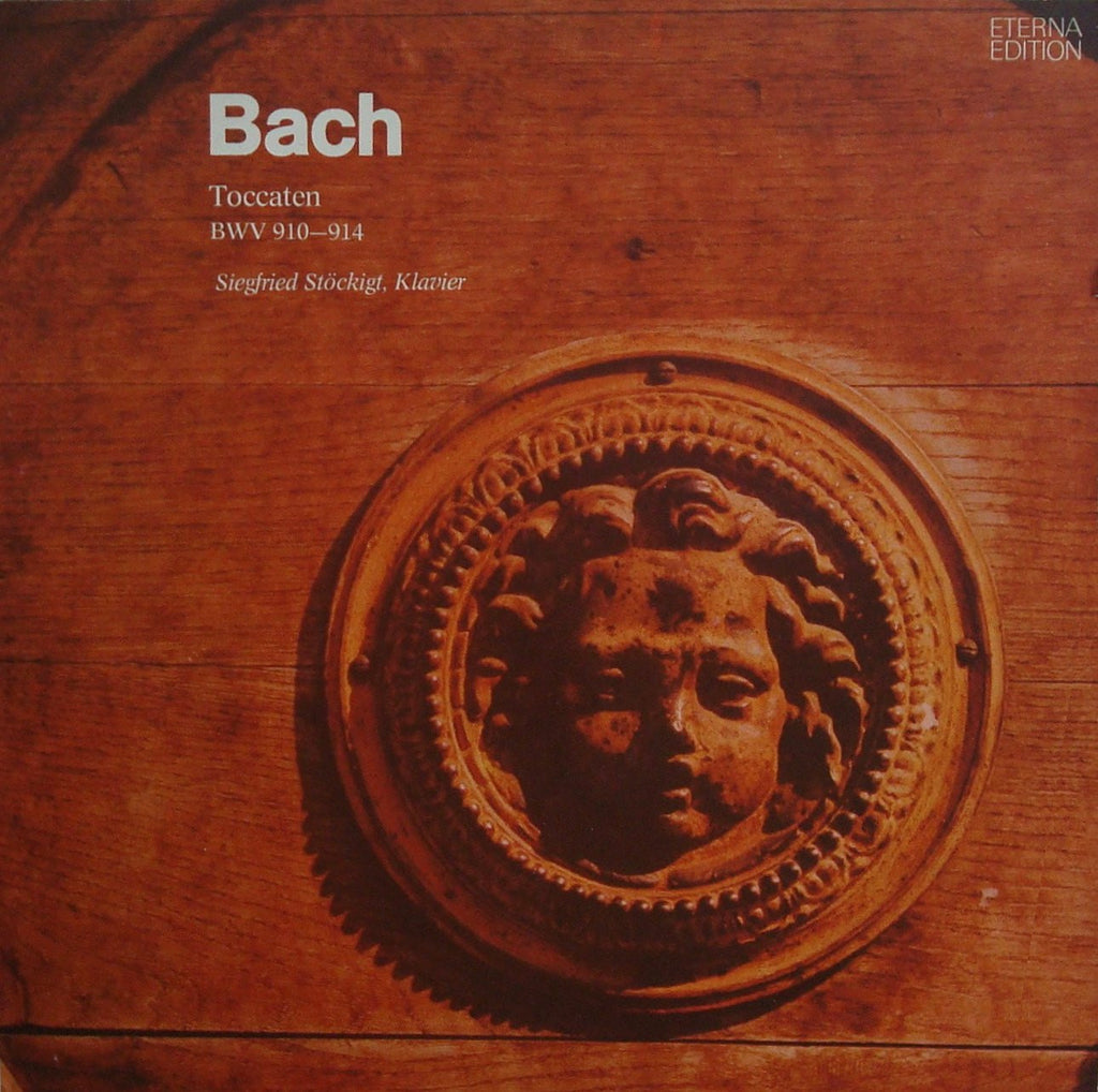LP - Stöckigt: Bach Toccatas BWV 910-914 (played On Piano) - Eterna 8 27 840