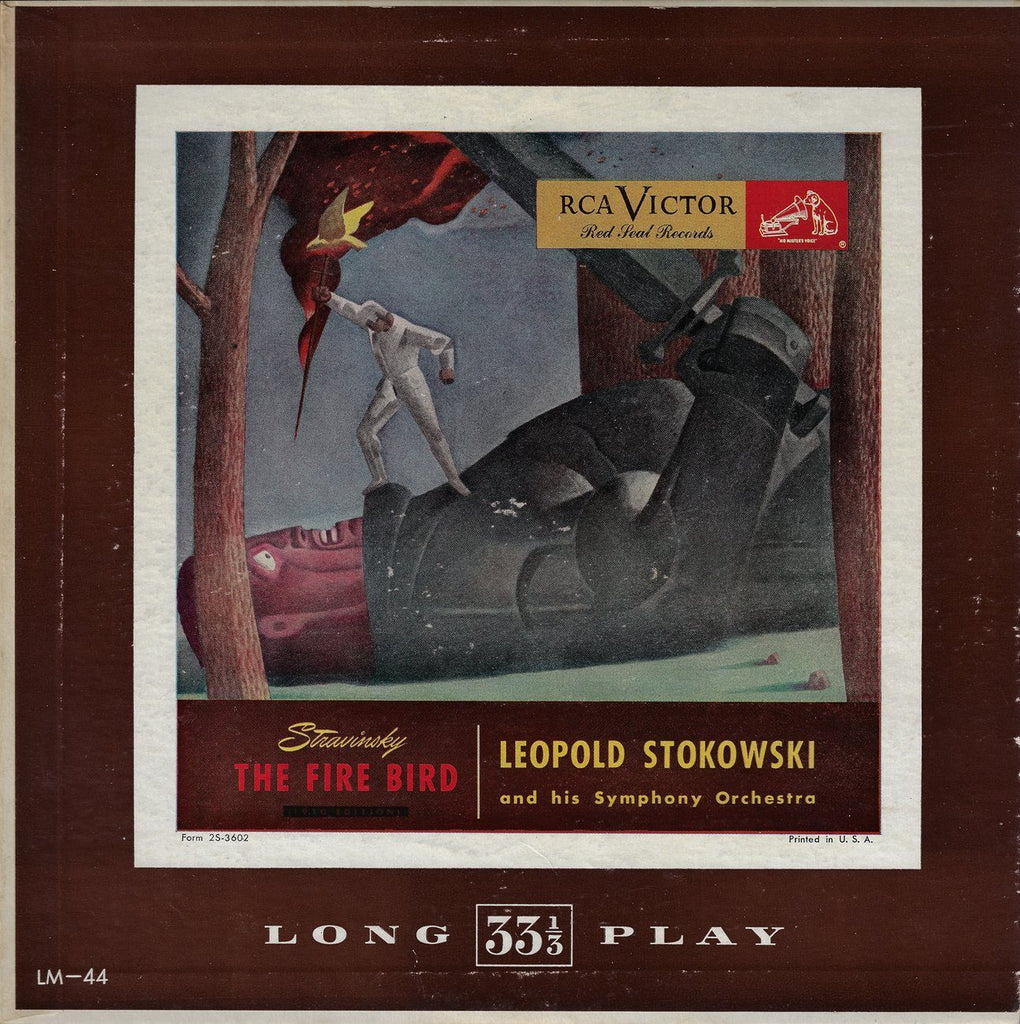 "Stokowski/His SO: Stravinsky Firebird Suite - RCA LM-44 (10"" LP)"