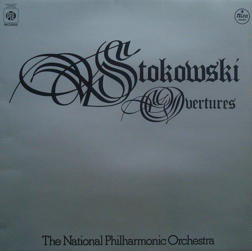LP - Stokowski/NPO: Overtures (Leonore No. 3, William Tell, Etc.) - Pye/Nixa PCNHX 6