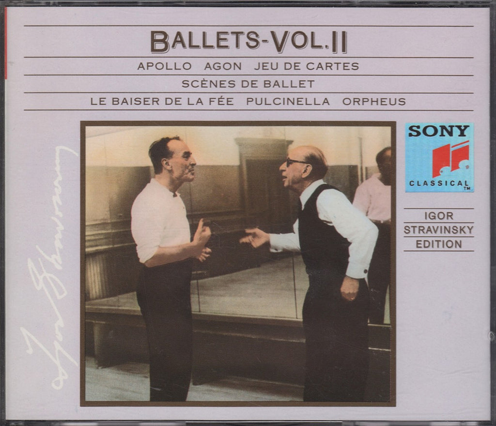 CD - Stravinsky: Ballets Volume II (Apollo, Agon, Etc.) - Sony SM3K 46292 (3CD Set)