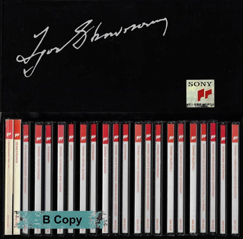 Stravinsky: The Recorded Legacy - Sony Sx22K 46290 (22Cd Set) Cd