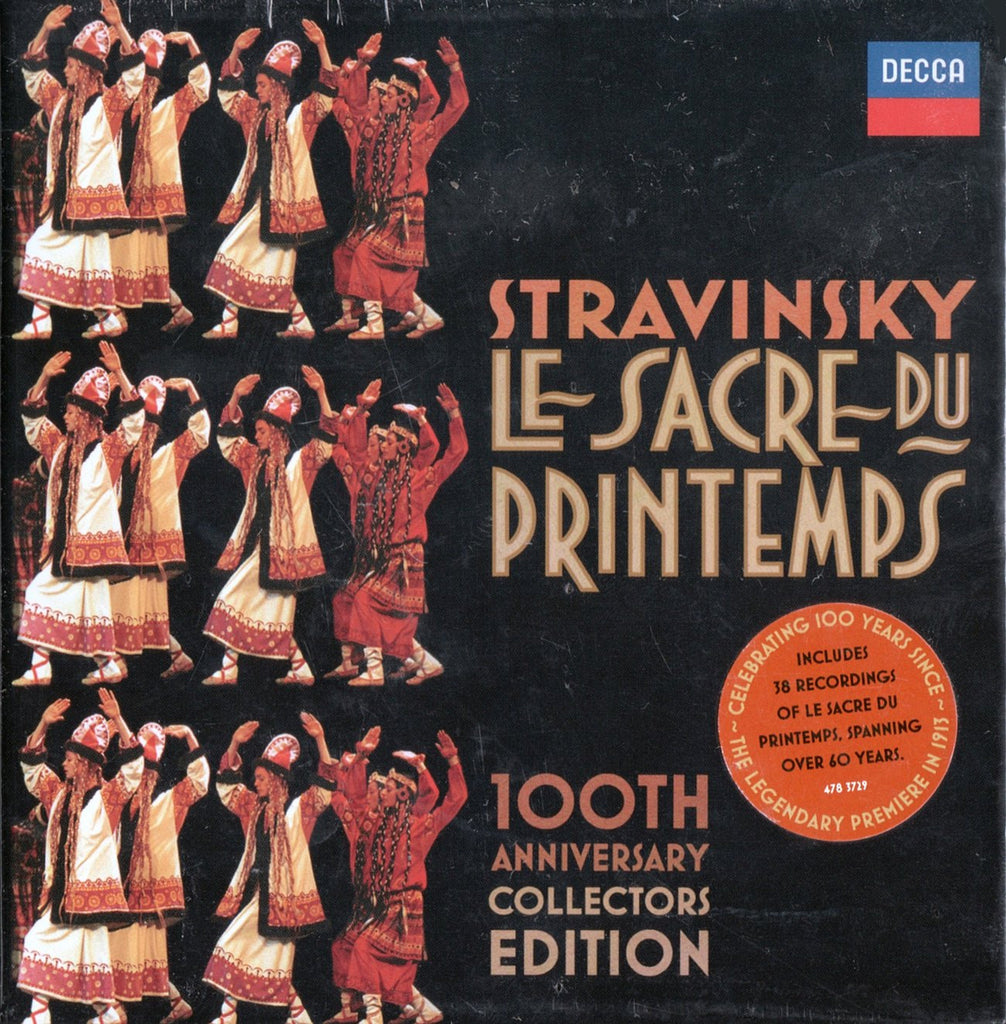 CD - Stravinsky: 100th Anniversary Collectors Edition - Decca 478 3729 (20CD Set) (sealed)