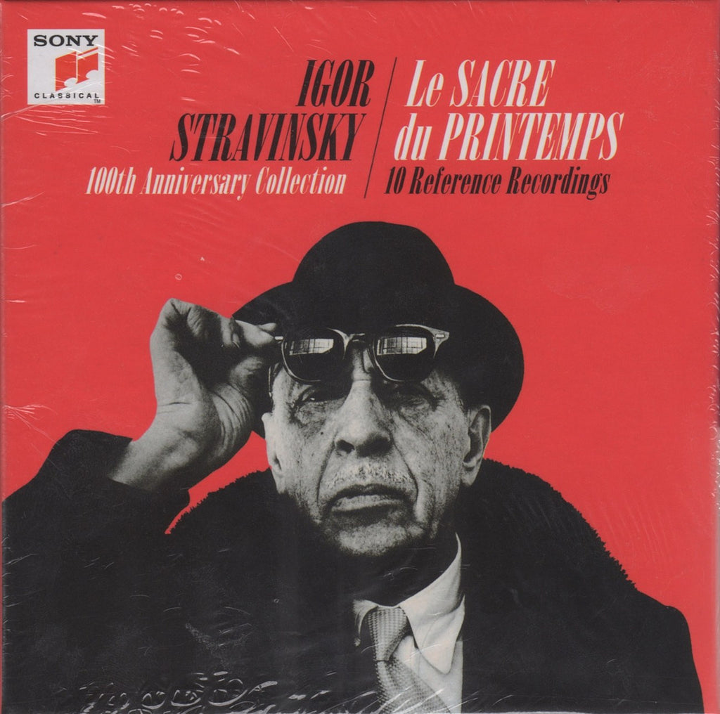 CD - Stravinsky: Rite At 100 (10 Reference Recordings) - Sony 88725461742 (10CD Set) (sealed)