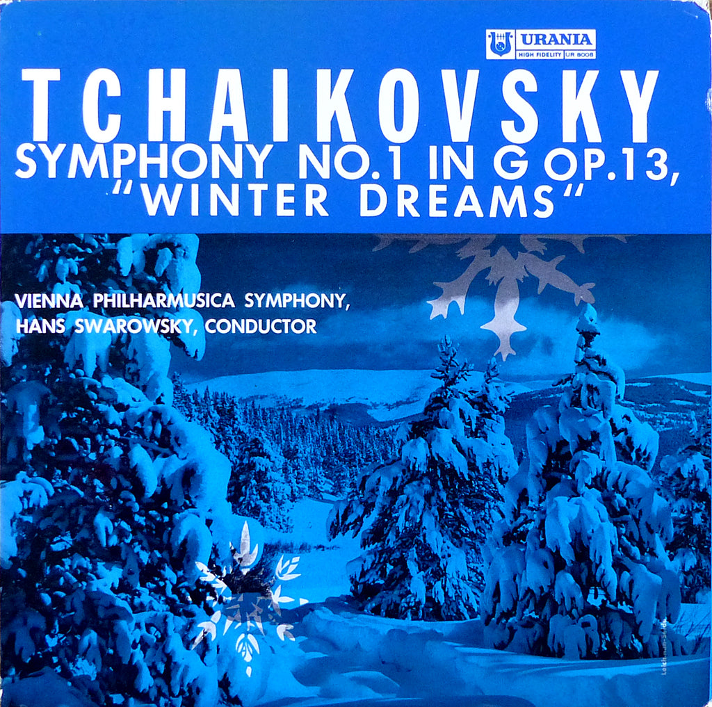 "Swarowsky: Tchaikovsky Sym No. 1 ""Winter Dreams"" - Urania UR 8008"