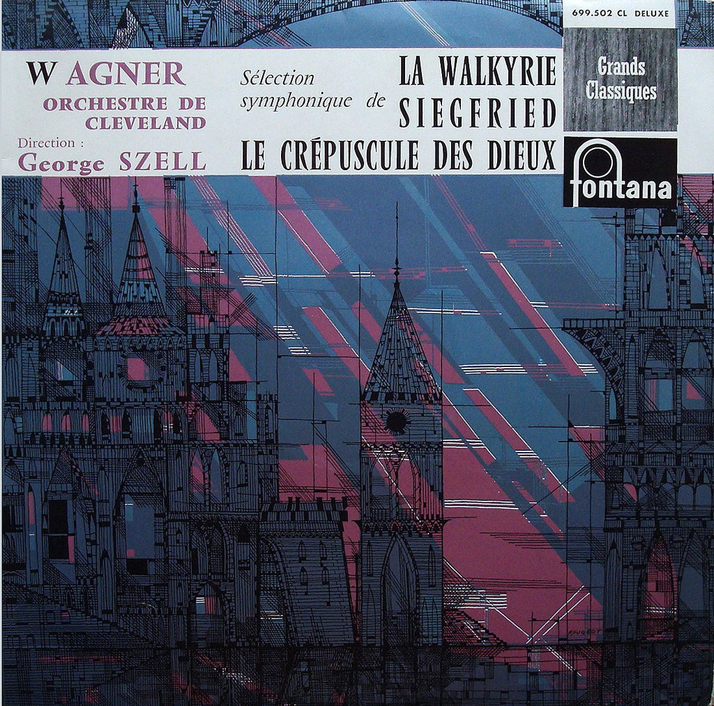 LP - Szell: Wagner Orch Excerpts (r 1956, Mono Only) - Fontana 699.502 CL
