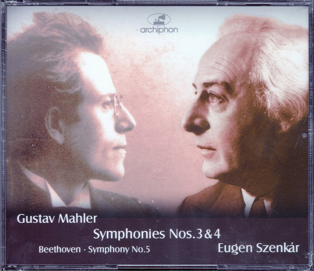 CD - Szenkar: Mahler Symphony No. 3 + Beethoven No. 5 - Archiphon ARC-136/38 (3CD Set) (sealed)