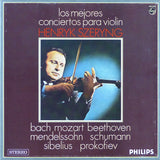 Szeryng: 10 Great Violin Concerti - Philips Spain 5 OEL 050 (5LP box set)