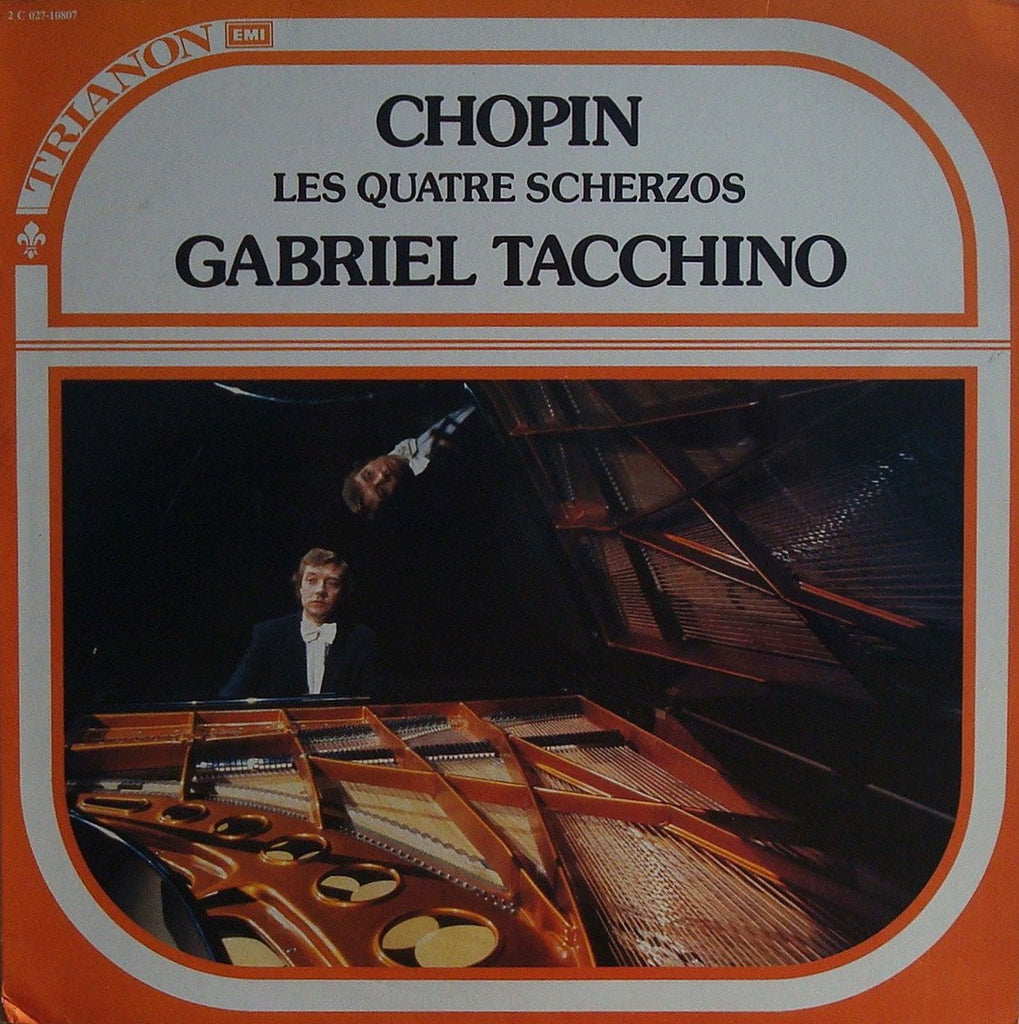 LP - Gabriel Tacchino: Chopin The Four Scherzi - Trianon 2 C 027-10807