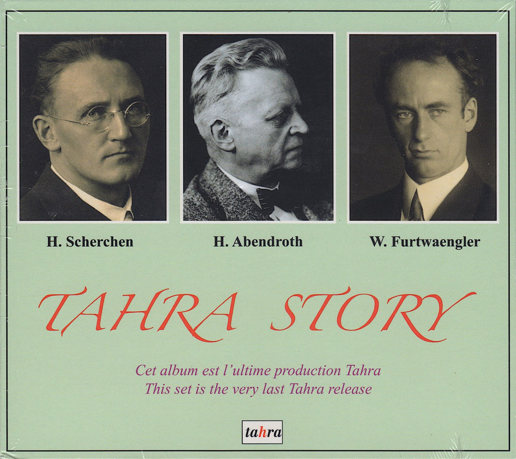 CD - Tahra Story: Unpublished Recordings; Story Of The Label - Tahra TAH 768 (sealed)