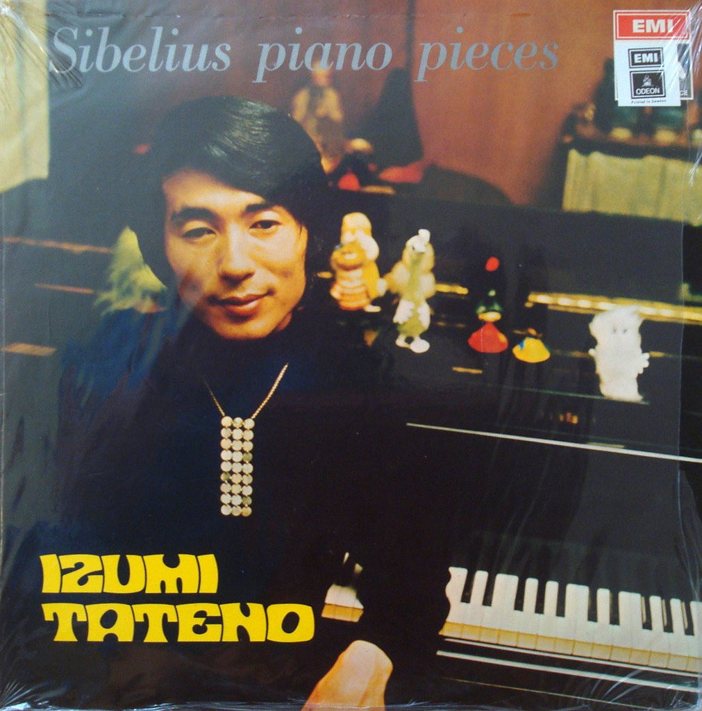 LP - Tateno: Sibelius Piano Recital (rec. 1970) - EMI 5E 063-34472, Lovely Playing