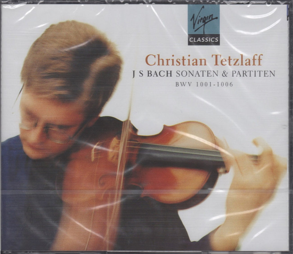 CD - Tetzlaff: Bach Sonatas & Partitas For Solo Violin - Virgin VC 5 45089 2 (DDD) (2CD Set) (sealed)