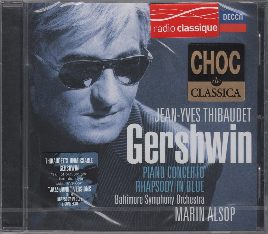 CD - Thibaudet: Gershwin Concerto In F, Rhapsody In Blue, Etc. - Decca 478 2189 (DDD) (sealed)